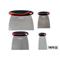 """Шпателі """"японські"""" з нержавіючої сталі YATO 50/75/100/150 мм 4 шт"""