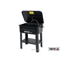 Мийка для майстерні мережева YATO : 80 л, 10 л/хв, висота 88 см, ванна 72х 48х 26 см