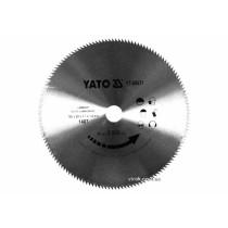 Диск пиляльний по ламінованих плитах та ламінату YATO 180 x 20 x 1.7 x 1.4 мм 140 зубців R.P.M до 9000 1/хв
