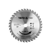 Диск пиляльний победітовий по дереву YATO: 190x20x2.2x1.5 мм, 36 зубців, R.P.M до 8500 1/хв