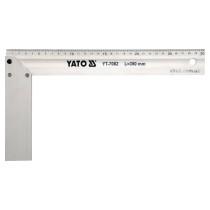 Кутник столярний алюмінієвий YATO 350 мм