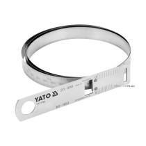 Циркометр сталевий YATO для кола- 60-950 мм і діаметра 20-300 мм з метричною і дюймовою шкалами