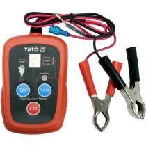 Тестер електронний YATO для діагностики тиску впорскування бензину в двигунах