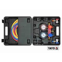 Набір для обслуговування кондиціонерів авто YATO для групи R-134A 6 шт