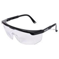 Окуляри захисні відкриті прозорі YATO з корекцією зору +2 діоптрії