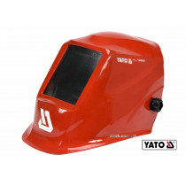 Маска зварювальника з автозатемнювальним світлофільтром YATO 100 х 50 мм