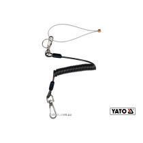 Мотузка стяжна для збереження інструментів YATO 1.5 мм x 52-170 мм 3 кг + 2 карабіни