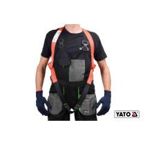 Шлейки безпеки з лямками корпуса тіла для висотних робіт YATO