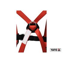 Шлейки безпеки з лямками корпуса тіла і амортизатор YATO для висотних робіт