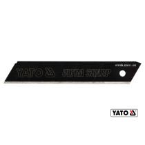 Леза сталеві з відломними сегментами YATO 18 мм 10 шт