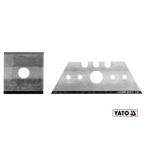 Леза змінні до рубанка по г/к плитах YT-76260 YATO трапеційне- 53 х 18 х 32 мм квадрат- 23 мм 2 шт