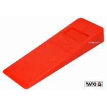 Клин для розколювання дерев пластиковий YATO 205 x 72 x 30 мм 220 г
