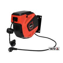 Подовжувач електричний на котушці YATO 10 м 1.5 мм² 3-жильний