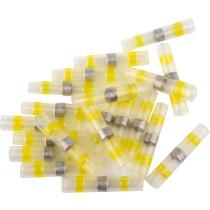 Кембрики термоусадні до 105°C з оловом YATO, для провідників 4-6 мм², 20 шт.