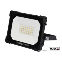 Прожектор з SMD-діодним випромінювачем YATO 20 Вт 1800 лм 28 діодів
