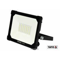 Прожектор з SMD-діодним випромінювачем YATO 30 Вт 3000 лм 42 діоди
