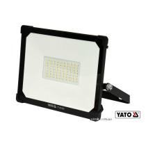 Прожектор з SMD-діодним випромінювачем YATO 50 Вт 5000 лм 70 діодів