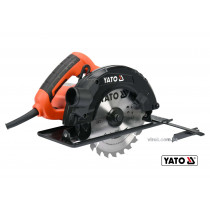 Пила дискова мережева YATO 1500 Вт диск 185 x 20 x 2.8 мм 0-45° 65 мм