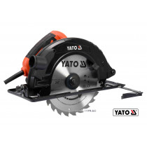 Пила дискова мережева YATO 2800 Вт диск 235 x 25.4 x 3 мм 0-45° 85 мм