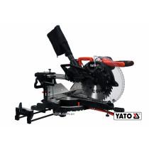 Пила торцьовальна з лазером і протяжкою YATO 1.8 кВт диск 305 x 30 мм
