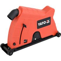 Кожух пилозахисний YATO до КШМ на диск Ø230 мм, глибина різу 60 мм, діапазон 50-65 мм