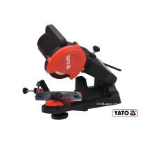 Верстат для заточування ланцюгів мережевий YATO 85 Вт 5500 об/хв 0-35° диск- 108 x 23 x 3.2 мм
