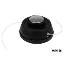 Головка для кріплення жилки до газонокосарок YATO Ø2.2-3 мм M12x1.75 + 4 адаптера