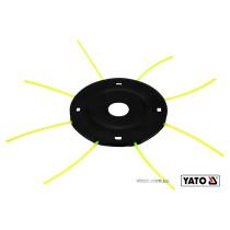 Головка сталева для кріплення жилки до газонокосарок YT-85001/YT-85003 YATO Ø2-3 мм 300-430 мм
