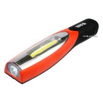 Світильник акумуляторний YATO Li-Ion 3.7 В 2 LED x 180 лм + зарядний пристрій