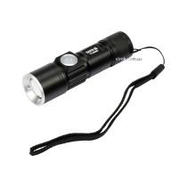 Ліхтар світлодіодний XTE CREE акумуляторний YATO Li-Ion 3.7 В 650 мАгод 5 Вт 350 лм Ø27 x 94 мм