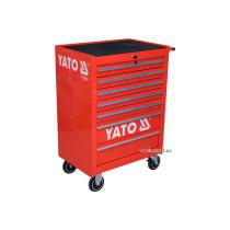 Шафа-візок для інструментів YATO з 7 шуфлядами, 995х680х458 мм