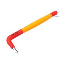 Ключ 6-гранний Г-подібний YATO М4 мм l=140 мм b=40 мм з діелектрично ізольованим корпусом до 1000 В