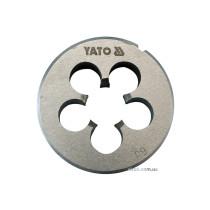 Плашка YATO М8 х 1.25 мм, HSS М2, m= 35 г [100/400]