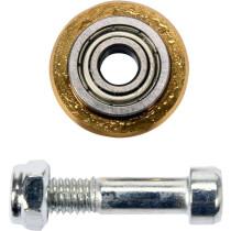 Ролик для плиткорізу підшипниковий з тримачем YATO, Ø= 22х6 мм, t= 6 мм, покритий титаном
