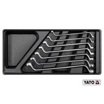 Вклад до інструментальної шафи YATO: ключі накидні 7шт, 6х7, 8х9, 10х11, 12х13, 14х15, 16х17,18х19мм