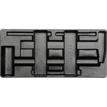 Вклад до інструментальної шафи пустий YATO, для молотків і зубил YT-5540