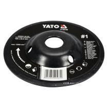 Диск-фреза шліфувальний YATO по дереву, ПВХ, гіпсу 125 х 22.2 мм шорсткість №1
