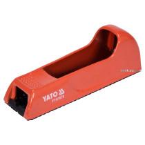 Рашпиль для гіпсокартону YATO 140 х 40 мм металевий корпус