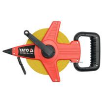 Рулетка геодезична скловолоконна YATO 50 м х 13 мм