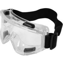Окуляри захисні з вентиляцією YATO прозорі з регульованим еластичним паском