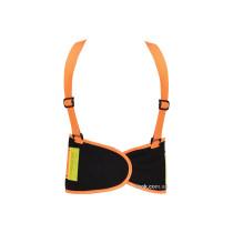 Пояс для підтримки спини YATO еластичний зі збільшеною видністю (оранжевий), 137х 20 см, розмір XXL
