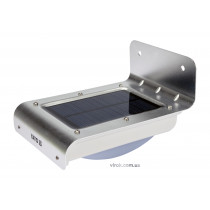 Світильник сонячний акумуляторний YATO Li-Ion 3.7 В 0.9 Агод 120 лм з датчиком руху 3 м