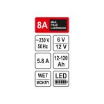 Зарядний пристрій для акумуляторів STHOR 82543