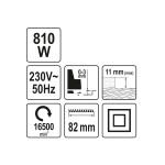 Електрорубанок YATO YT-82141