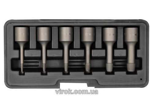 Экстракторы сломанных винтов YATO Ø2/3/4/6/8/10 мм 6 шт