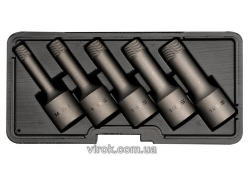 Экстракторы сломанных винтов YATO Ø8/10/12/14/16 мм 5 шт