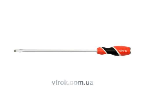 Отвертка плоская ударная YATO SL8 x 300 мм