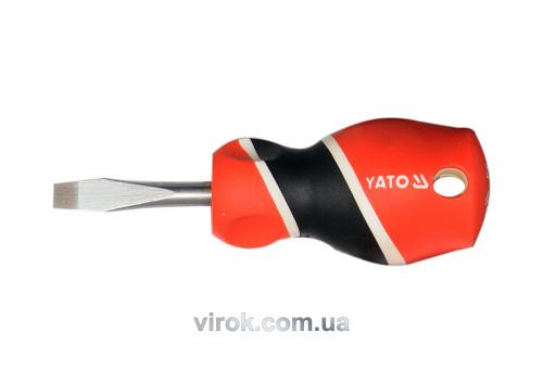 Отвертка плоская YATO SL6 x 38 мм