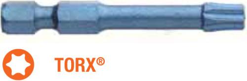 Насадка отверточная ударная BLUE SHOCK USH Torx T25 x TORSION 50 мм 5 шт