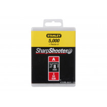 "Скоба для степлера STANLEY ""Light Duty"" тип ""А"", h= 8 мм, 5000 шт."